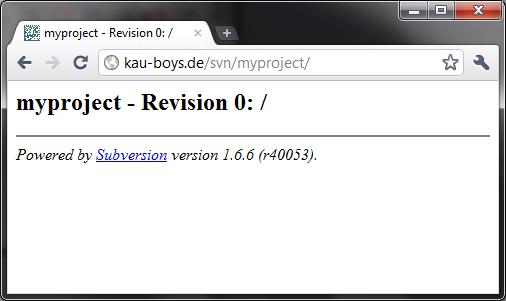 SVN-Repository-WebDAV