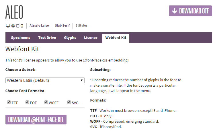 fontsquirrel-download-kit