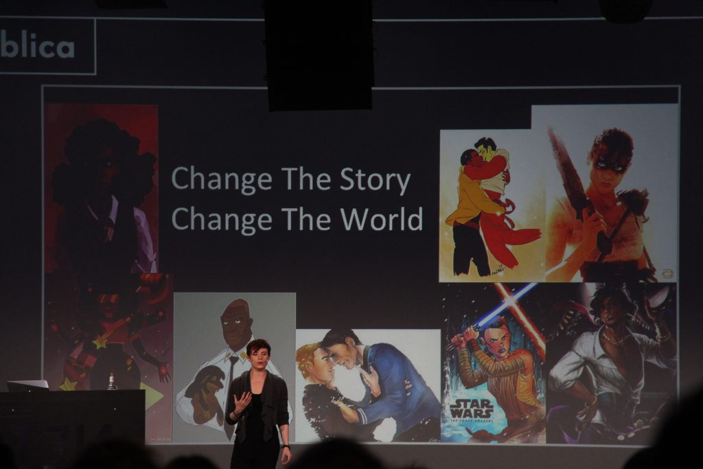 Change The Story, Change The World.