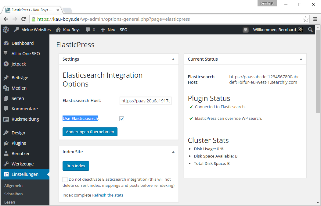 elasticsearch-elasticpress-settings-after-indexing
